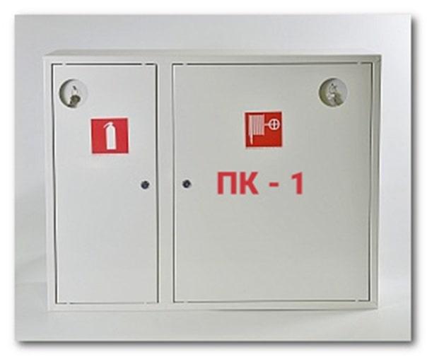 Вариант оформления пожарного шкафа