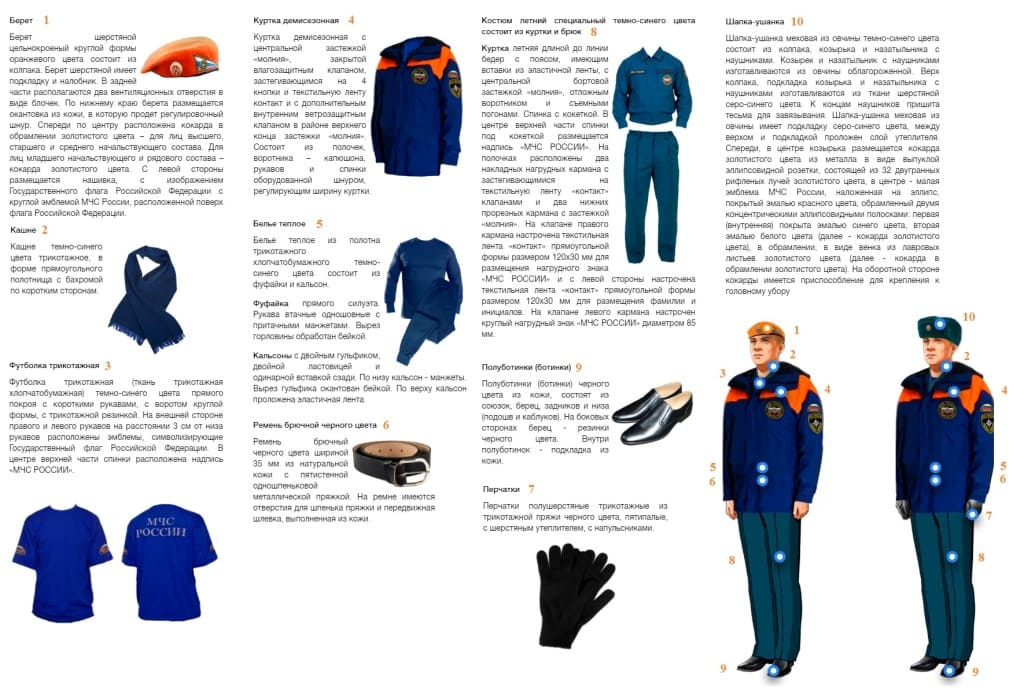 Летняя и зимняя повседневная форма с курткой демисезонной вне строя рядовой и младший личный состав
