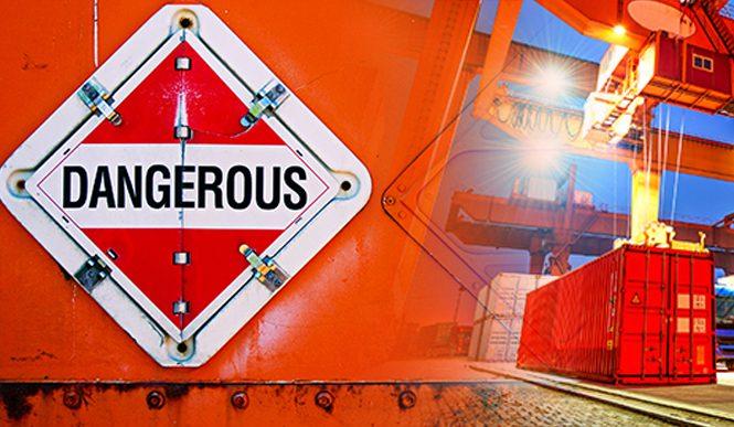 Морские перевозки опасных грузов