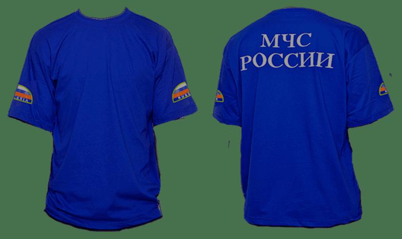 Образец футболки МЧС