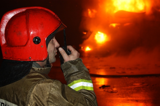 РТП докладывает обстановку на пожаре