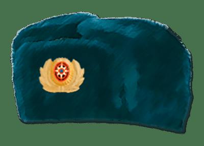 шапка ушанка МЧС