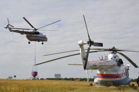 вертолеты МЧС России