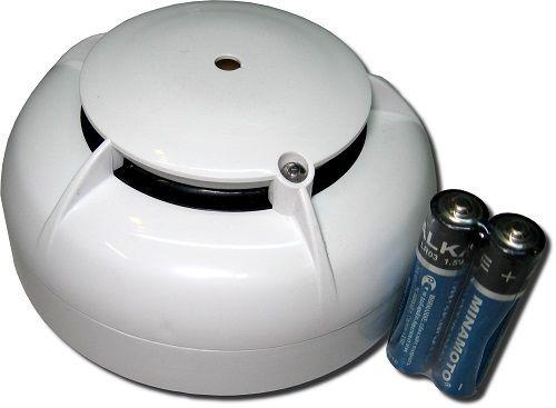 Датчик дыма работающий на батарейках