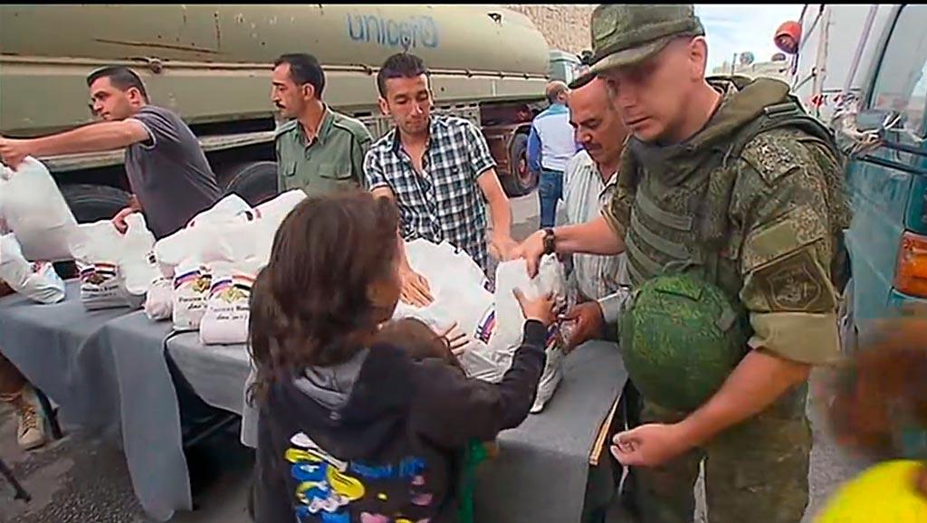 Гуманитарные операции при чрезвычайных ситуациях