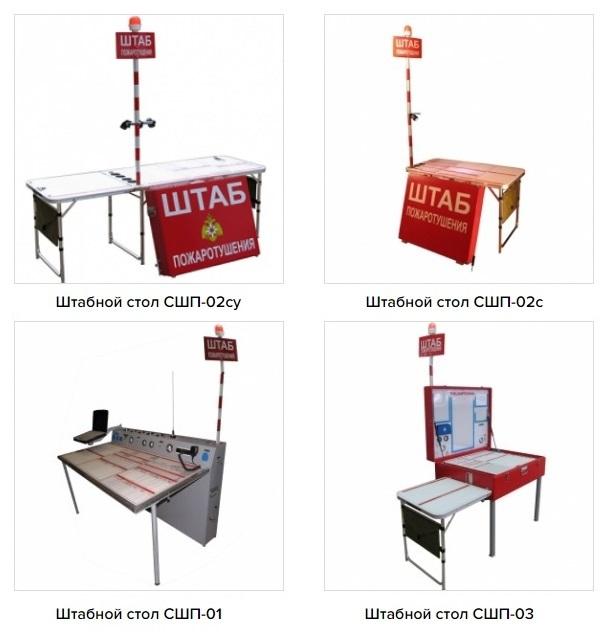 Модели штабных столов