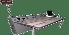 Штабные столы: назначение и обзор моделей