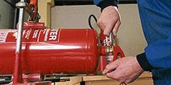 Перезарядка огнетушителей: сроки, периодичность и проверка