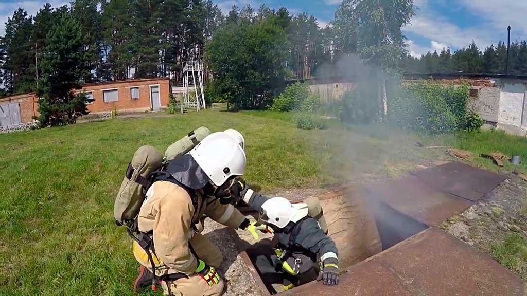 Разведка пожара