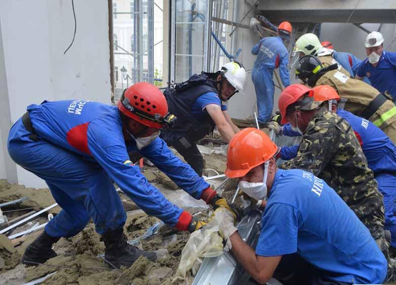 Технология проведения поисково-спасательных работ