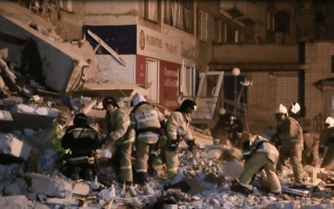 Ижевск спасательные работ обрушение дома