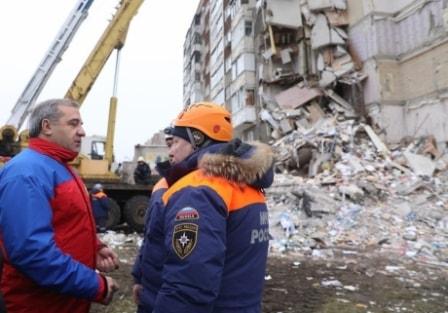 Министр на месте ЧС в Ижевске
