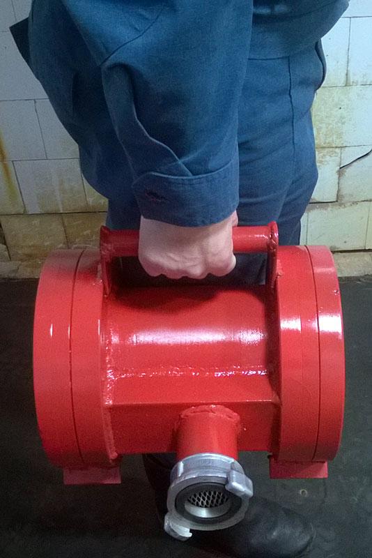 Переносная экспресс-мойка пожарных рукавов