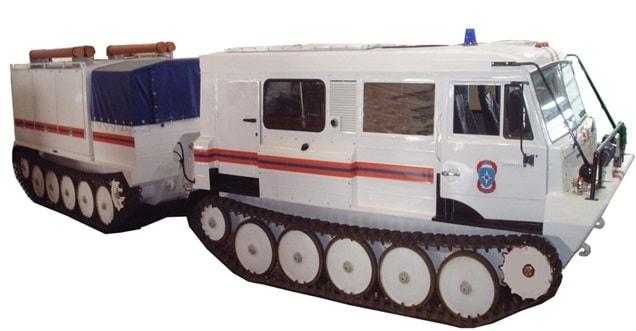 Аварийно-спасательная машина (АСМ-ГД)