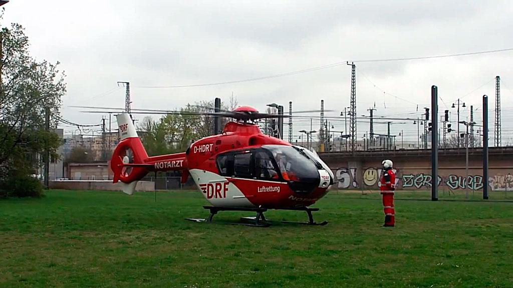 Санитарный вертолет Eurocopter ec145
