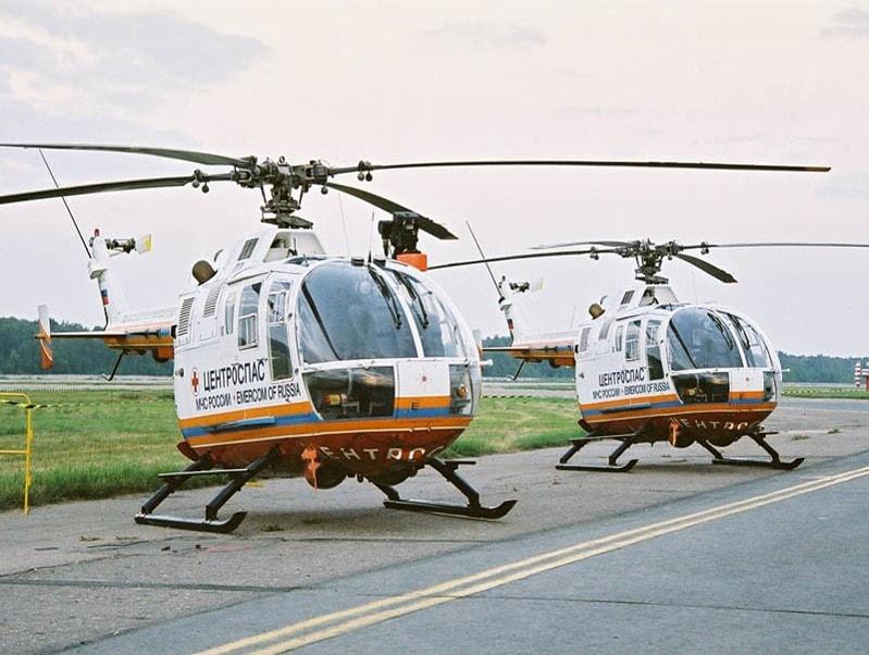 Вертолет Б0-105