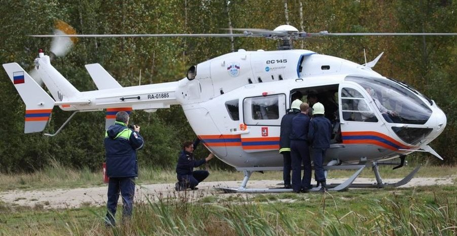 Вертолет Бк-117
