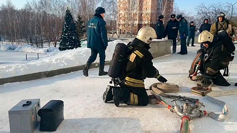 Пожарно-тактические учения ПТУ