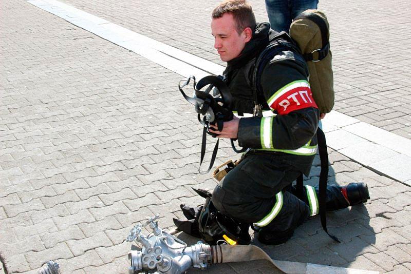 Руководитель тушения пожара (РТП)