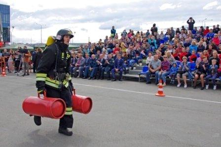 пожарно-спасательный кроссфит