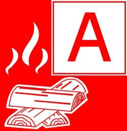 Класс пожара A