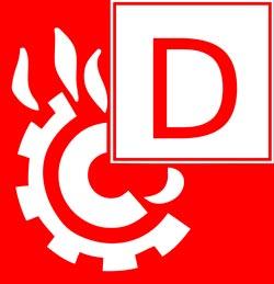 Класс пожара D