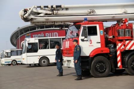Обеспечении пожарной безопасности в период FIFA 2018