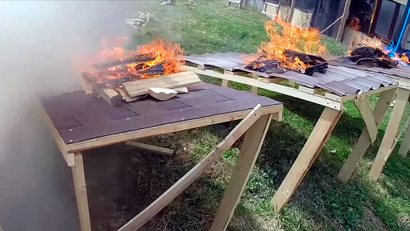 Классификация строительных материалов по пожарной опасности
