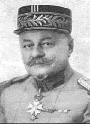 Французский генерал медицинской службы Джорж Сант-Пол
