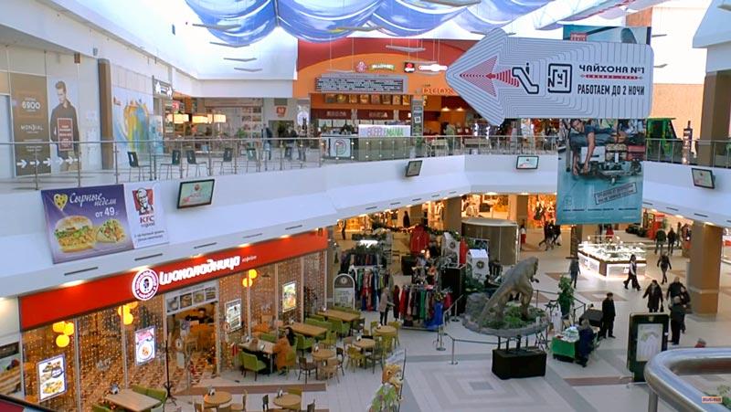 Торговый центр и пожарная нагрузка