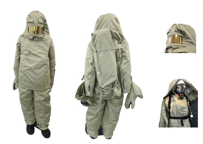 Боевая одежда пожарного арктического исполнения