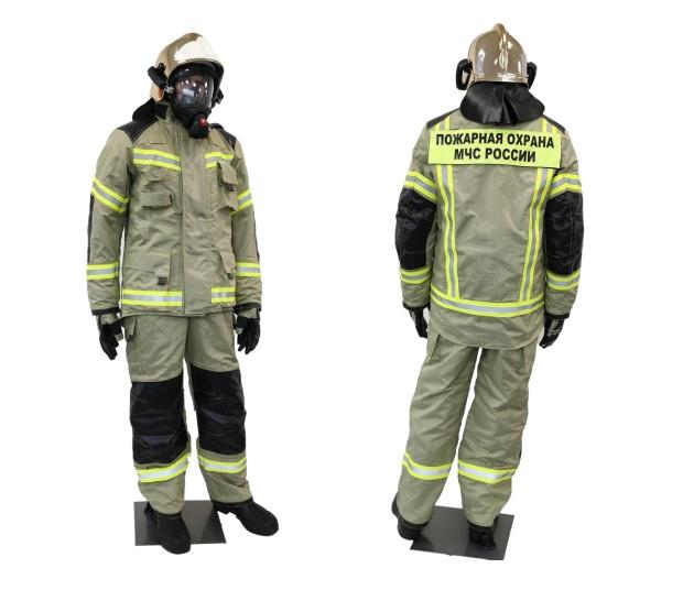 Боевая одежда пожарного для южных регионов