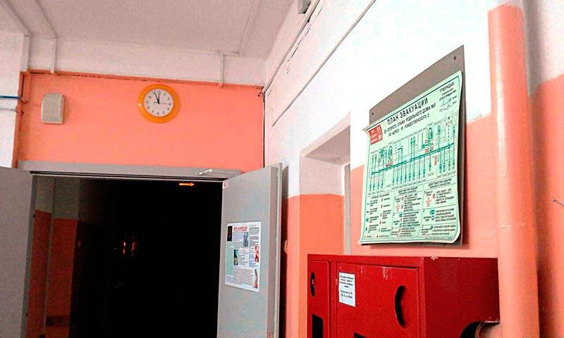 План эвакуации в больнице