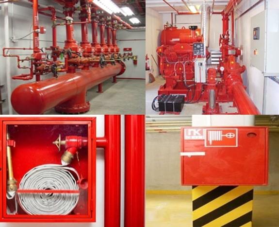 Источники внутреннего противопожарного водоснабжения