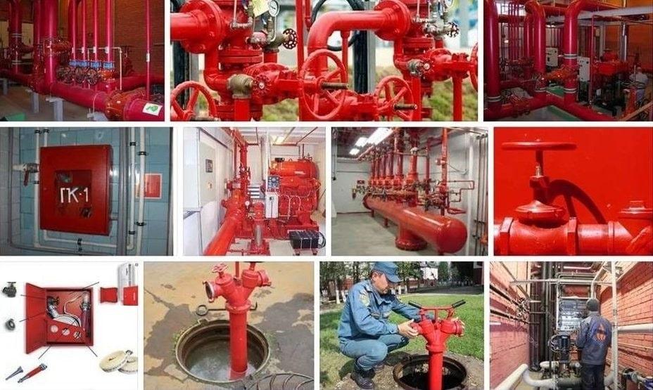 Противопожарное водоснабжение виды