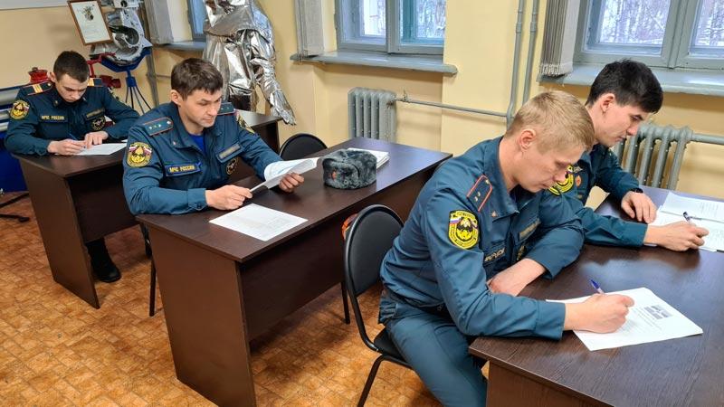 Подготовка личного состава караула