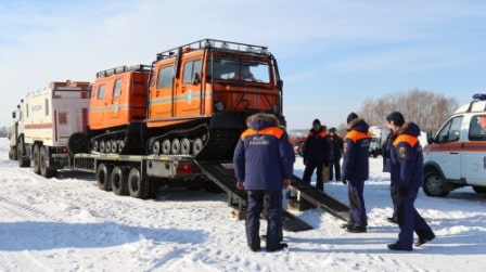 Спасатели МЧС России готовятся к весеннему сезону