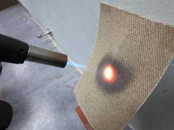 Огнеупорная ткань