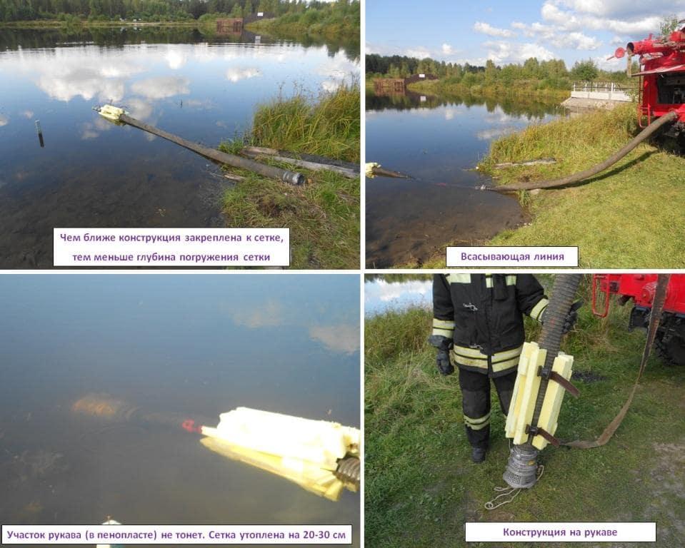 Практическое применение поплавка на сетке