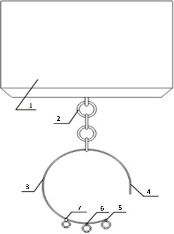 Схема элементов конструкции устройства