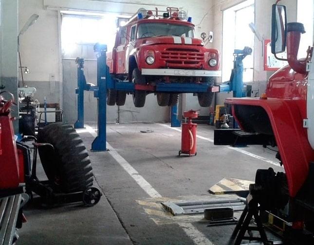 ТО пожарных автомобилей