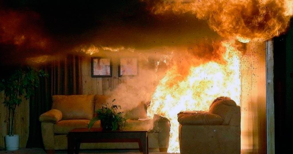 Поджог квартиры