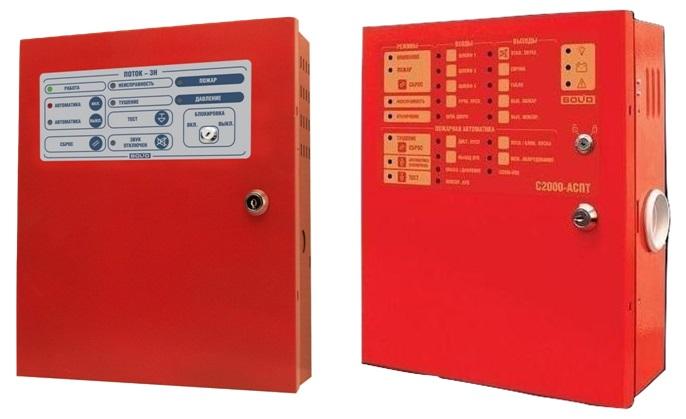 Приборы пожарные контроля и управления АСПТ