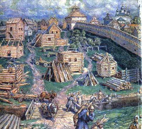 Древнерусская летопись о пожаре 1382 год