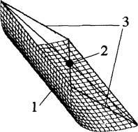Отражающий экран для формирования ударных взрывных волн