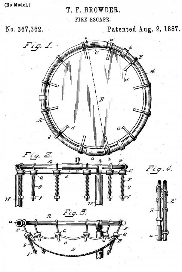 Патент Томаса Браудера 1897 года