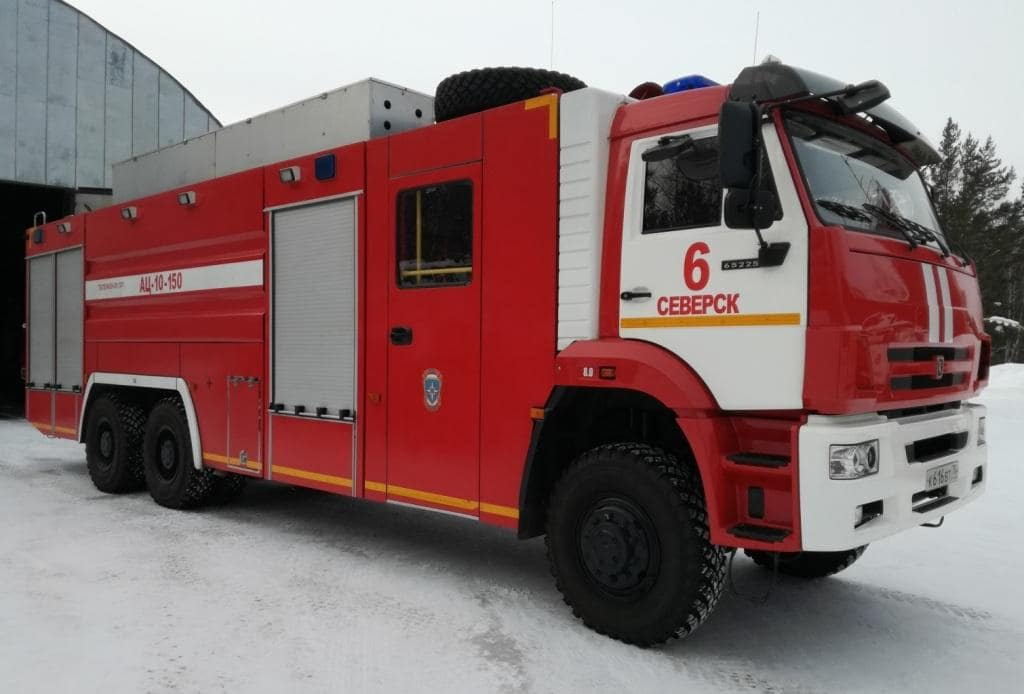 Пожарный автомобиль АЦ-10-150