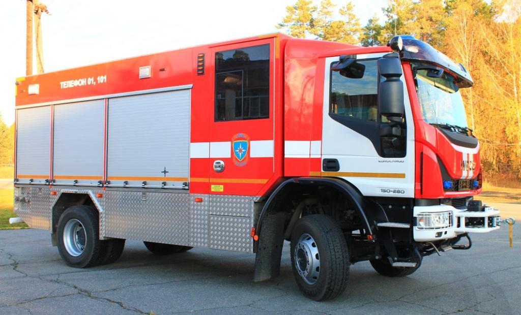 Пожарный автомобиль АЦ-3,2-40-4 IVECO