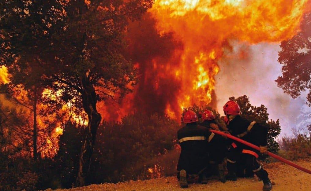 Тушение пожаров взрывом