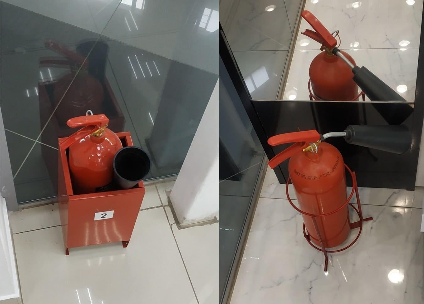Углекислотные переносные огнетушители